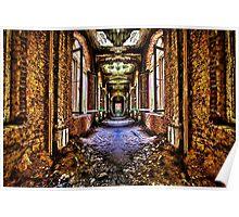 Abandoned House Interior Fine Art Print Poster