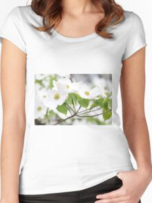 Dogwood Women's Fitted Scoop T-Shirt