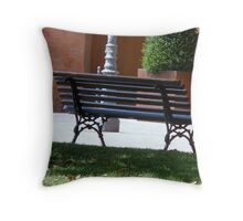 Just alone Throw Pillow