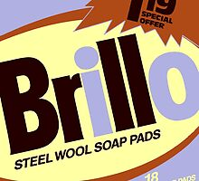 Brillo Box Package Colored 30 - Andy Warhol Inspired by peterpotamus