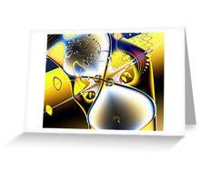 Cheerful Chaos Greeting Card