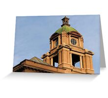The Court House Tower Greeting Card