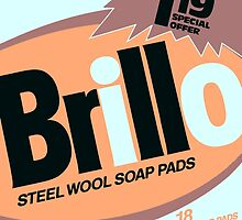 Brillo Box Package Colored 33 - Andy Warhol Inspired by peterpotamus