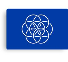 International Flag of Earth Canvas Print