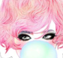 Bubble Gum Chick Sticker