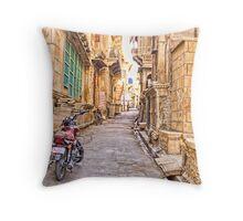 Jaisalmer Fort Street Throw Pillow