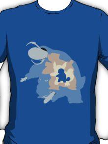 Pokemon At the Heart of Blastoise Evolution T-Shirt