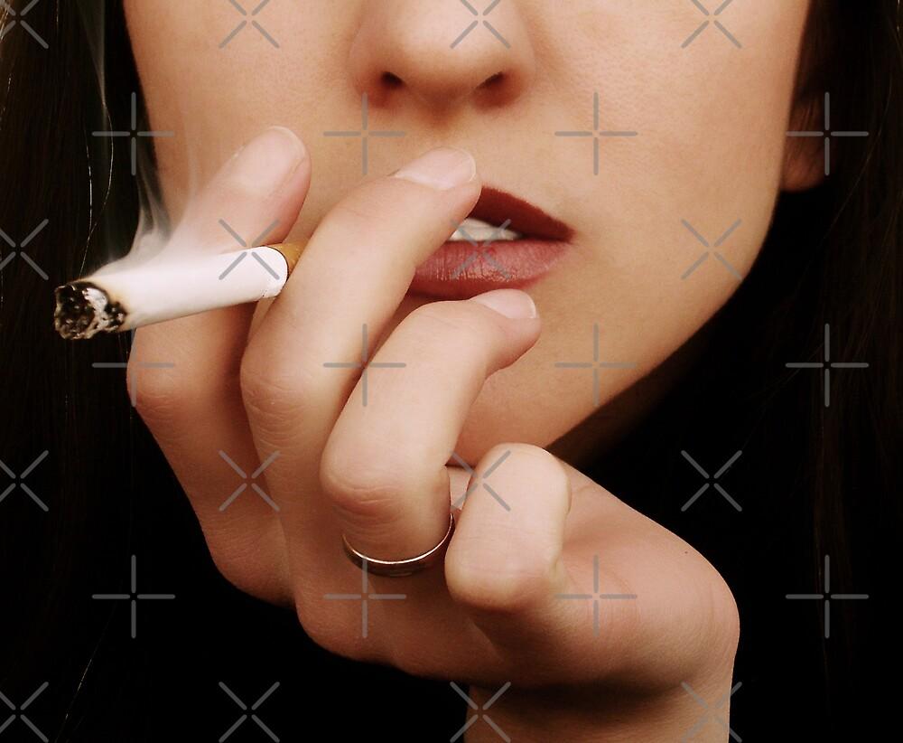 The Smoking woman by Olga Altunina