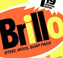 Brillo Box Package Colored 37 - Andy Warhol Inspired by peterpotamus