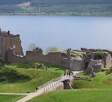 urquhart castle loch ness by valdavie