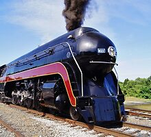 "Norfolk and Western Class ""J"" # 611 Locomotive after restoration by paulboggs"