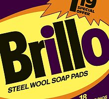 Brillo Box Package Colored 39 - Andy Warhol Inspired by peterpotamus