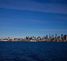 Seattle Skyline by Kyle-Campbell