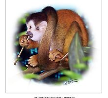 RED-BACKED SQUIRREL MONKEY 5 by DilettantO