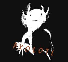 Axolotl (White) by Zammuel