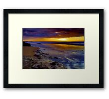 """Morning Speculation"" Framed Print"