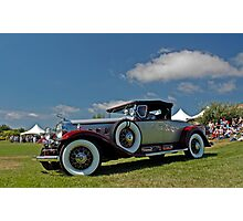 1930 Cadillac 452A V-16 Roadster Photographic Print