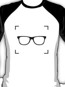 Nerd Behind The Camera (logo only) T-Shirt
