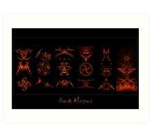 Dark Magics Art Print