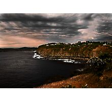 Avoca cliffs Photographic Print