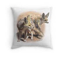 RUEPPELL'S FOX 2 Throw Pillow