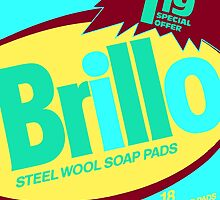 Brillo Box Package Colored 48 - Andy Warhol Inspired by peterpotamus