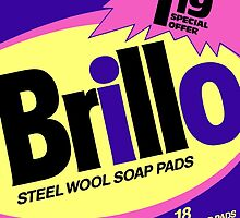 Brillo Box Package Colored 49 - Andy Warhol Inspired by peterpotamus