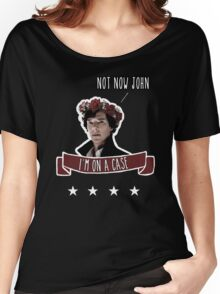 Sherlock on a case Women's Relaxed Fit T-Shirt