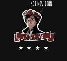 Sherlock on a case Unisex T-Shirt