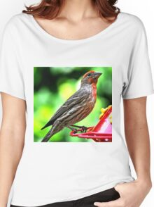 ADULT MALE HOUSE FINCH Women's Relaxed Fit T-Shirt