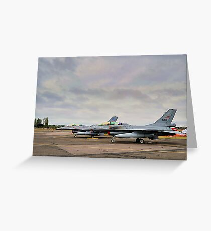 F-16's Greeting Card