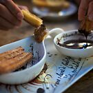 Churros con Chocolate by Gayan Benedict