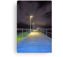 Kwinana Beach Jetty  Canvas Print