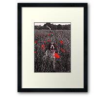 A Loyal Friend to Brighten your Dull Moments Framed Print
