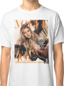 Gigi Hadid Vogue Cover Classic T-Shirt