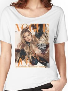 Gigi Hadid Vogue Cover Women's Relaxed Fit T-Shirt