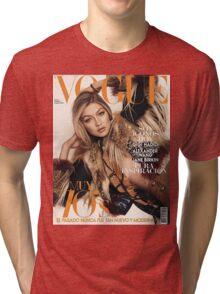 Gigi Hadid Vogue Cover Tri-blend T-Shirt