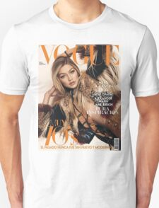Gigi Hadid Vogue Cover Unisex T-Shirt