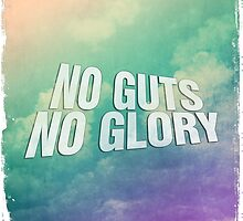 No guts no glory sky skies blue air plane airforce by Dopealicious