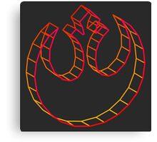 Rebel Alliance 3D Intense Canvas Print