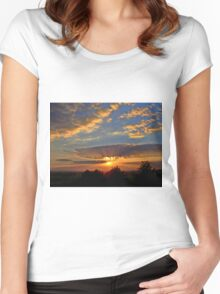 Good Night     ... sweet dreams Women's Fitted Scoop T-Shirt