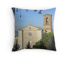 San Francesco, Centro Storico, Perugia, Italy Throw Pillow