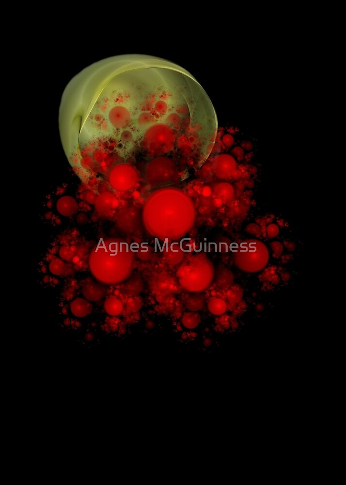 My cup overflows by Agnes McGuinness