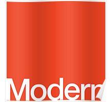 Modern Typography Poster