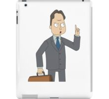 Rick and Morty: Tiny-Persons Advocate iPad Case/Skin