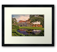 Country House HDR Framed Print