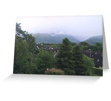 Fortwilliam, Ben Nevis Greeting Card