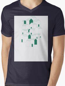 Hill Houses Mens V-Neck T-Shirt