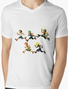 Young Strawhats  Mens V-Neck T-Shirt