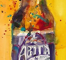 Abita Purple Haze by Abita Brewing Co by Dorrie  Rifkin